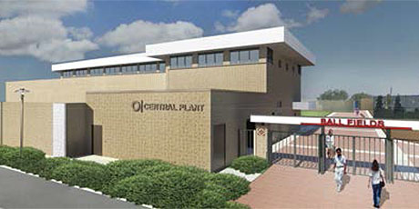 Measure Q Central Plant artist rendering