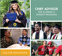 RSCCD Chief Advisor for Academic and Diversity Programs Search Brochure