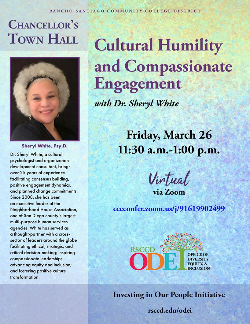 Chancellor's Town Hall | Cultural Humility and Compassionate Engagement