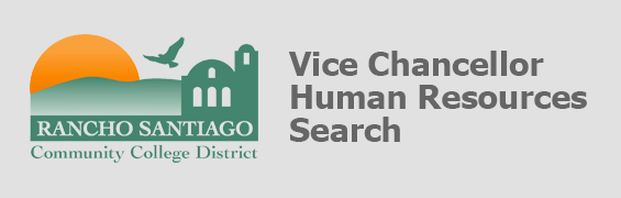 RSCCD Vice Chancellor Human Resources banner