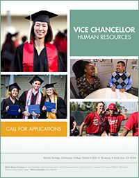 RSCCD Vice Chancellor Human Resources Search Brochure
